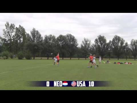 2014 WJUC Netherlands vs. USA Women's Pool Play Game Summary