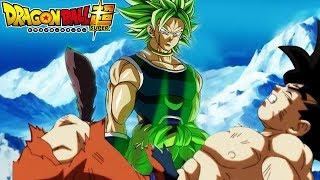 Broly new character design revealed by Akira toriyama-Dragon ball super