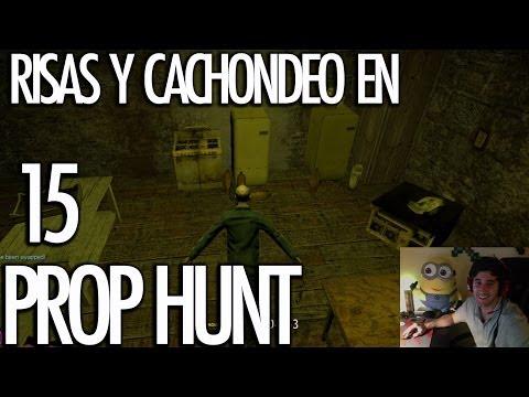 PROP HUNT 15: Risas y Cachondeo! LA BANANA DEL MINION!!! - [LuzuGames]