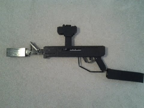 lego gun instructions working