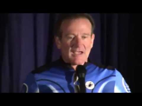 Jason Lamb's footage of Robin Williams in Vancouver, 2002