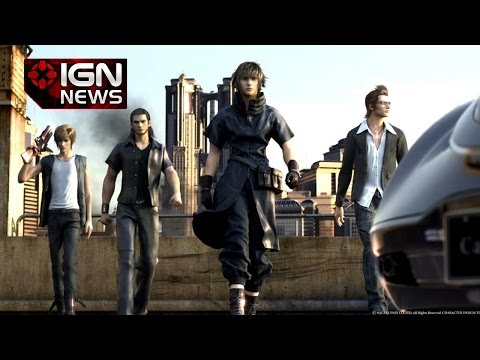 Final Fantasy 15 Director Explains Reasoning Behind All Male Cast IGN News
