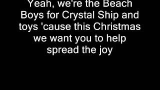 Watch Beach Boys Toy Drive Public Service Announcement video
