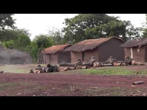 Sangaris : attaque par un groupe lourdement armé