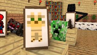 Monster School : Mobs Brave and Dancing Steve - Minecraft Animation