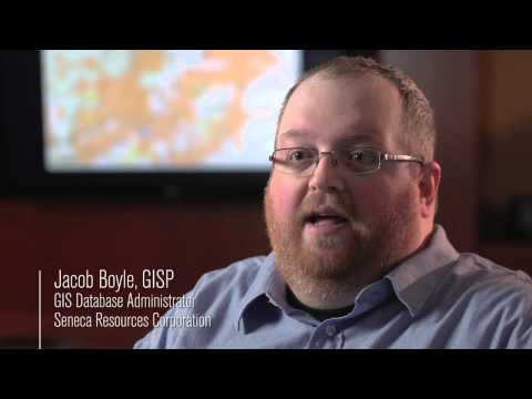 ArcGIS solutions at Seneca Resources Corporationg (Marcellus Shale)
