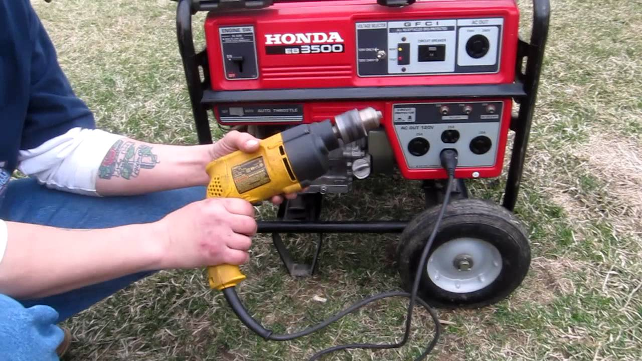 Honda EB3500 Generator - YouTube