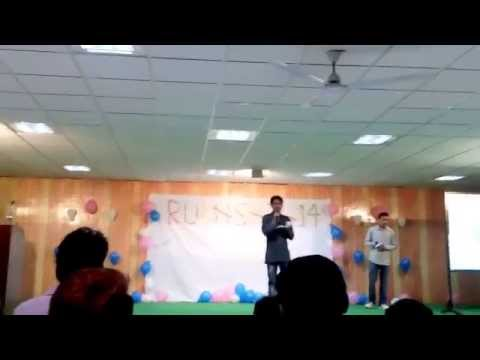 hindi kavita on farewell in mangalayatan University Aligarh by Raj Pandey