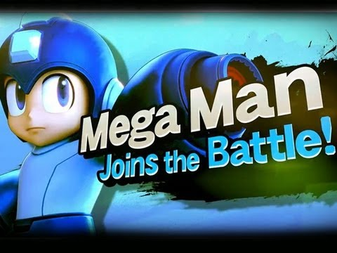 Smash Bros Wii-U Trailer feat. Mega Man E3M13