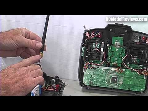Installing the FrSky 2.4GHz DIY kit in a HobbyKing Turnigy 9X radio