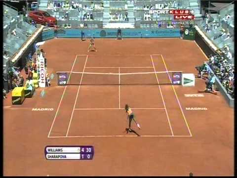 Serena Williams vs Maria Sharapova - WTA Madrid 2013. FINAL Highlights (bojan svitac)