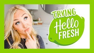 HELLO FRESH REVIEW // IS IT WORTH IT? | WHAT I EAT IN A WEEK | Laura-Lee