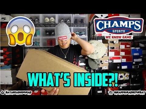 EP. 3 - UNBOXING FROM CHAMPS SPORTS! GUESS THAT SNEAKER!!!