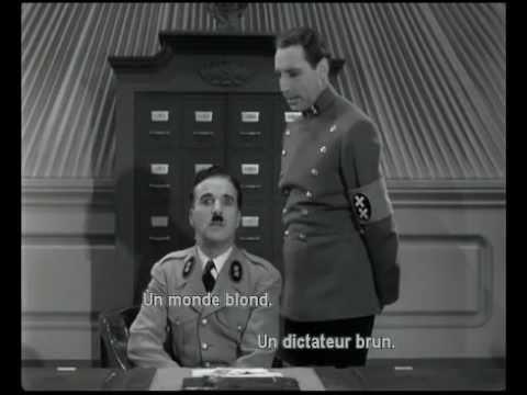 Le Dictateur - La scène du ballon VO