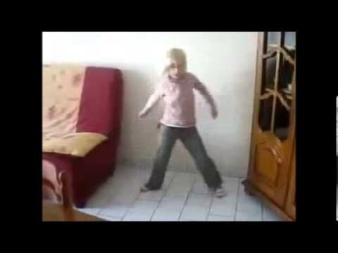Young White Girl Dances To African Music - Hq Sound video