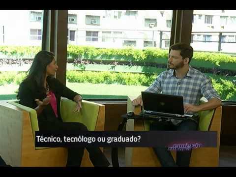 Técnico, tecnólogo ou graduado? - Conexão Futura - Canal Futura