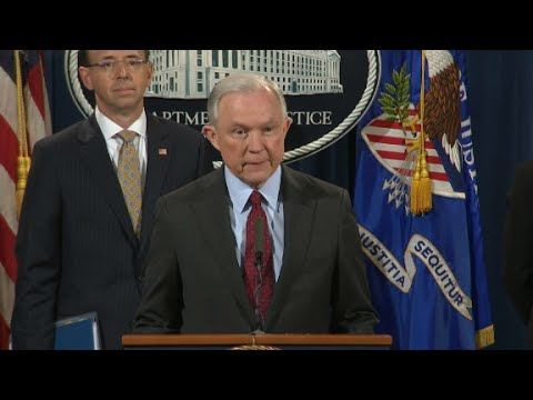 Sessions: I plan to continue as attorney general