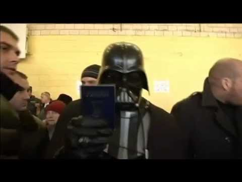 Ukraine Elections 2014: Darth Vader banned from voting in parliamentary election