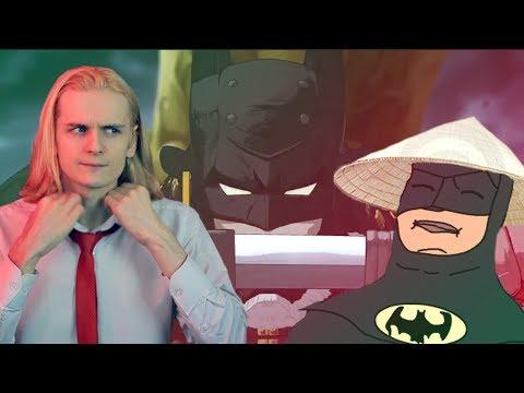 БЭТМЕН - НИНДЗЯ. Ваш Бэтмен - аниме