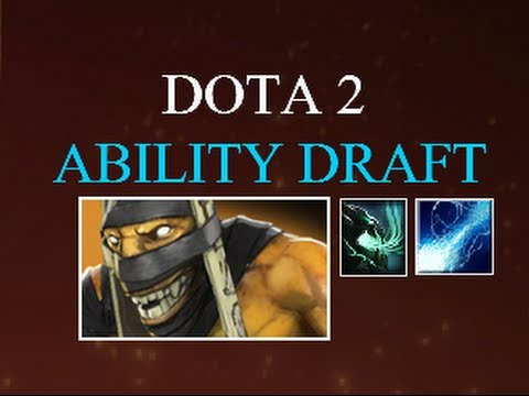 Dota 2 Ability Draft Infinite Mana + Ball Lightning - SUBSCRIBERS GAME