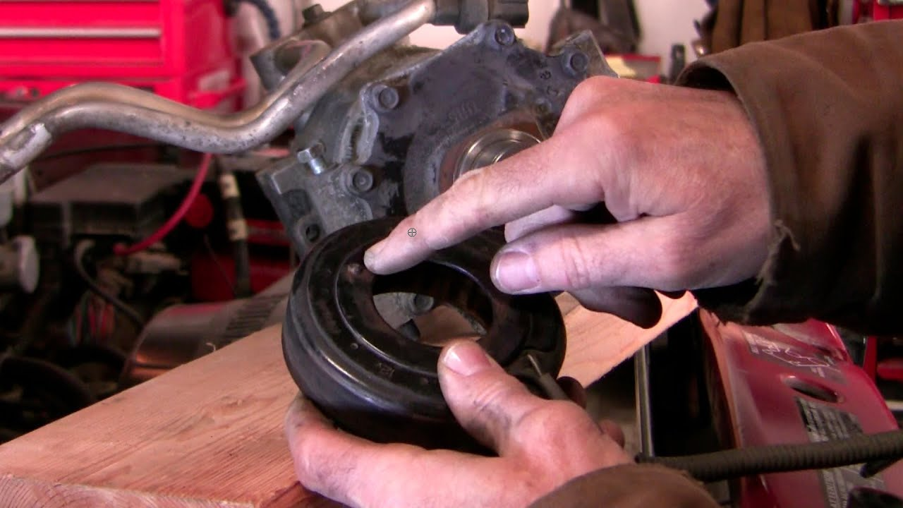 Ac Compressor Clutch Pulley Repair Part 2 Youtube