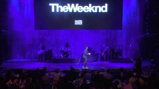 The Weeknd - Earned It (Pre-Grammy Live)