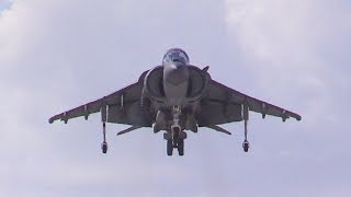 2015 MCAS Yuma Air Show - AV8B Harrier Demo
