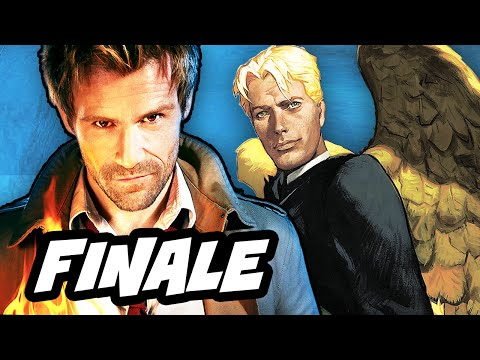 Constantine Episode 13 Finale Review and Hellblazer Easter Eggs