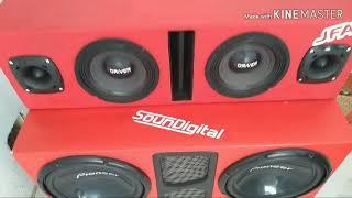 Tribo da Periferia - VIVER SEM SEGREDO tocando no som automotivo 2 Pioneer + SD 1200.1