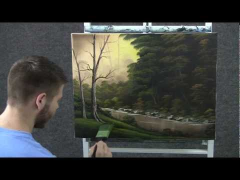 Paint with Kevin Hill - Slow River wet on wet HD