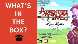 What's in the Box: Adventure Time Love Letter