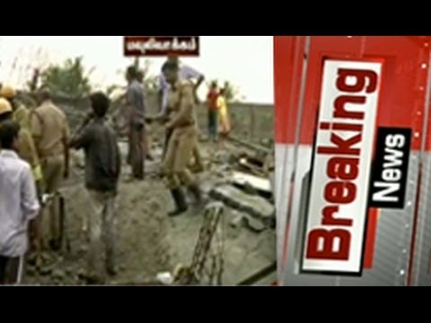 Building collapses in chennai; many feared trapped update03