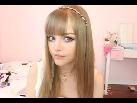 3 minute Cute Hairstyle - Ribbon Head Band - Kotakoti