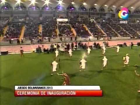 Tuteve.tv Show artístico de inauguración de los Juegos Bolivarianos