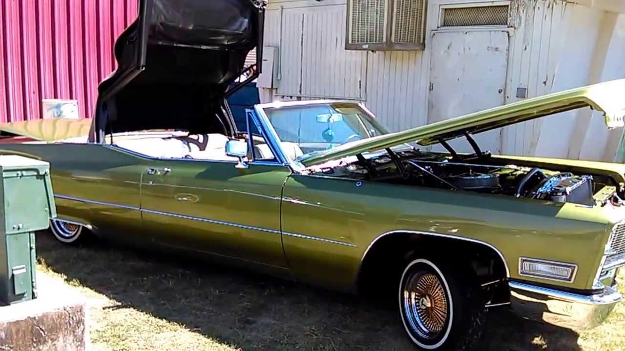 69 Cadillac Lowrider Stockton Lowrider Cars Impala