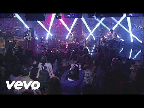 Foster The People - Houdini (Live @ Letterman)