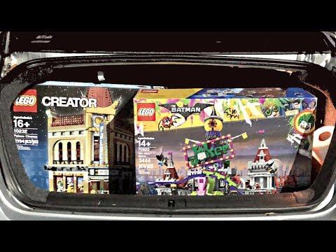 Amazing LEGO Haul in a Car Trunk!