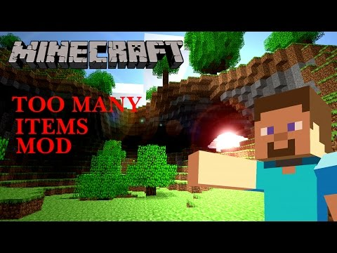 Minecraft Mods - TOO MANY ITEMS (Updated for 1.8) - Non Forge Version + Download