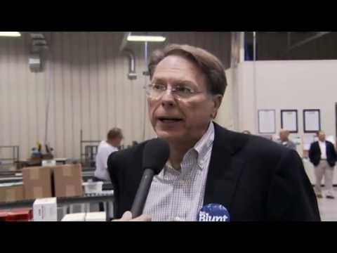 Wayne LaPierre on NRA-PVF's endorsement of Roy Blunt for Missouri Senator