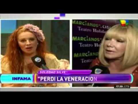 Soledad Silveyra reveló qué palabras fueron, exactamente, las que la hicieron pelear con Nacha Guevara