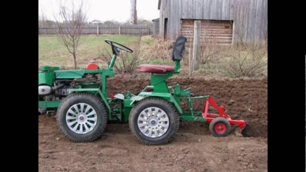 Ютуб трактор своими руками