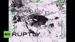 Syria: Russian airstrikes destroy ISIS oil facilities - Ministry of Defence