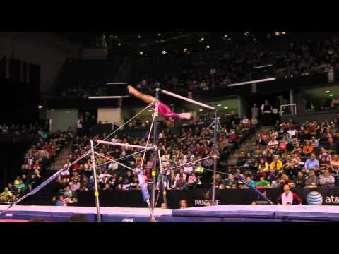 Gabrielle Douglas - Uneven Bars Finals (1st place!) - 2012 Kellogg&#039;s Pacific Rim Championships