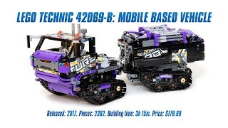 LEGO Technic 42069 B-model: Mobile Based Vehicle In-depth Review & Speed Build [4K]