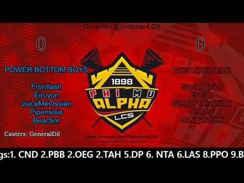 S4 W3: PBB vs TAH Game 1