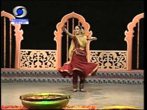 Kathak - Anjana Jha - ( Kathak Dancer )-2- National Prorramme Of Dance video