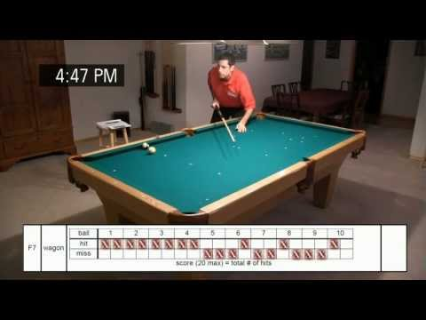 Billiard University - Part 4: Exam-I Overview - demonstrations and scoring of the Fundamentals Exam
