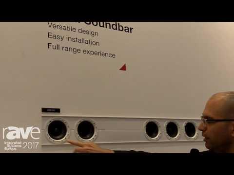 ISE 2017: Morel Introduces In-Wall Soundbar