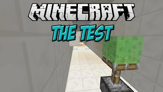 Minecraft: The Test Parkour Map - AWESOME MECHANICS!