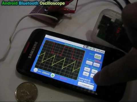 Android Bluetooth осциллограф.